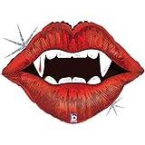 Vampire Teeth Mylar Balloon