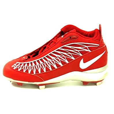 Nike Air Zoom Prowess 3/4 Hi Mens Metal Baseball Cleats Red 8.0