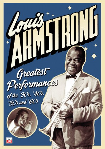 Cover art for  Louis Armstrong: Greatest Performances of the '30s,'40s, '50s, and '60s