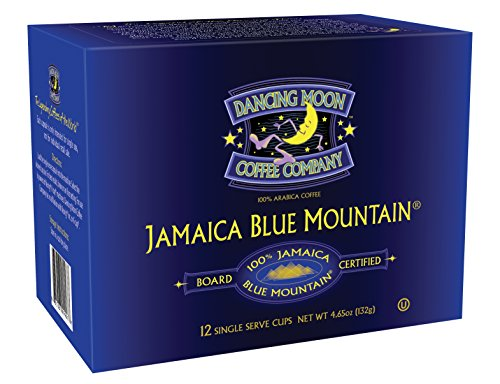 Dancing Moon 100% Board Certified Genuine Jamaica Blue Mountain K-Cups for Keurig Brewers (12-CT) (Counting Sheep Coffee Keurig compare prices)