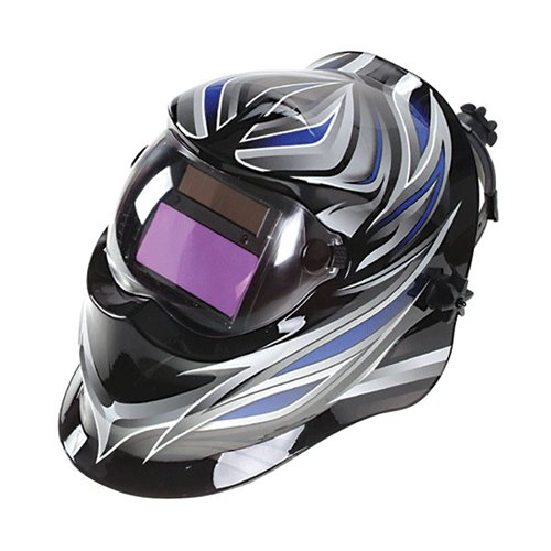 OTMT Auto Darkening Welding Helmets With AW-2000 Lens - Model: D-Blue Beta Color: D-Blue Dark Shade: Din #9~13, variable Normal Shade: Din # 3.5