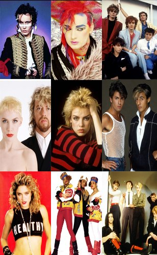 Pop Posters Kit featuring Pop Stars from the 1980s