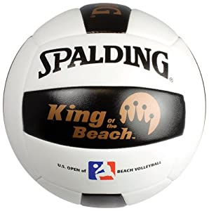 Buy Spalding 72-085 Replica Beach Volleyball of King of the Beach by Spalding