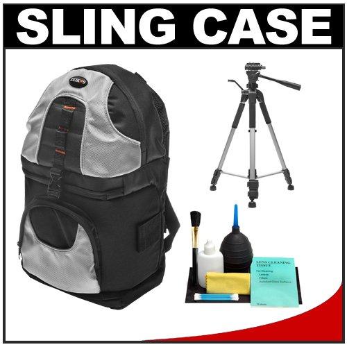 Zeikos Deluxe Digital SLR Camera Sling Backpack