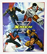 X-Men Blanket - X Men Raschel Throw Blanket