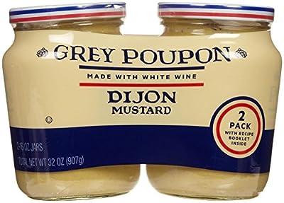Grey Poupon Dijon Mustard, 32 Ounce from Grey Poupon