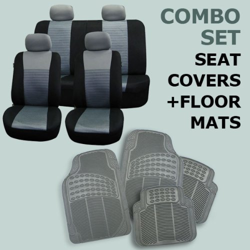 Fh Fb060114 R11305 Combo Set Gray Airbag Compatible Seat