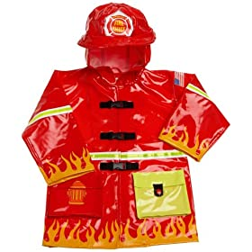 Kidorable Toddler/Little Kid Fireman Rain Coat