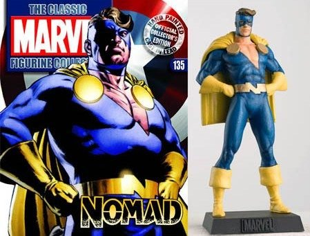 Classic Marvel lead Figurine Collection #135 Nomad - 1