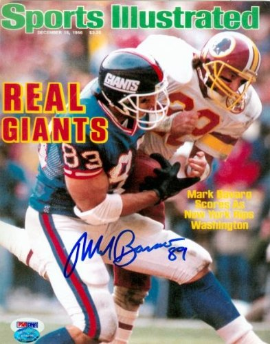 Mark Bavaro Autographed/Hand Signed 8x10 Photo (New York Giants) Image #11 PSA # M83102 Hologram Onl at Amazon.com
