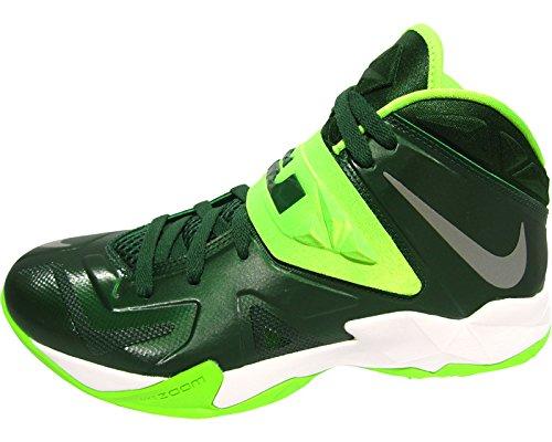 quality design 7ce56 3d1bc lebron james shoes green