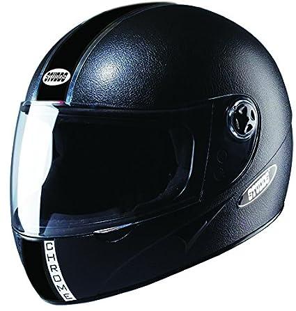 Studds Chrome Economy Full Face Helmet (Black, L) By Amazon @ Rs.865