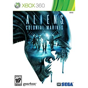 Aliens Colonial Marines XBox 360 Video Game
