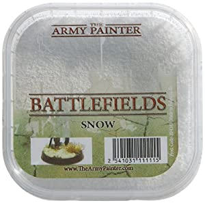 Snow Scatter Battlefields Miniature Basing