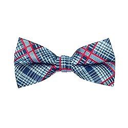 Chiplook Grey Silk Bow Tie