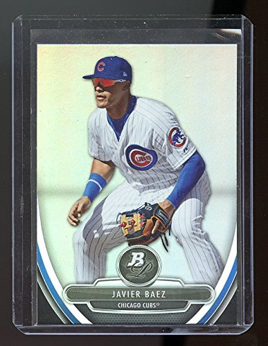 2013 Bowman Platinum Prospects #BPP10 Javier Baez Chicago Cubs Rookie Card - NM/Mint Condition Ships in a New Holder (2013 Bowman Platinum compare prices)