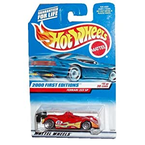 Hot Wheels 2000: First Editions : Ferrari 333 SP 1/64 scale (11 of 36 Collector 071)