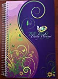 2011-2012 Daily Fashion Day Planner Organizer Agenda (August 2011 Through July 2012)- Purple Passion