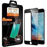 【Spigen】 iPhone6s ガラス フィルム, フルカバー グラス [ 3D Touch 全面液晶保護 9H硬度 發油加工 ] アイフォン 6s / 6 用 (iPhone6S, ブラック【SGP11589】)
