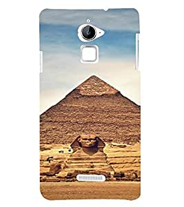 PrintVisa Travel Egypt Pyramids Design 3D Hard Polycarbonate Designer Back Case Cover for Coolpad Note 3 Lite