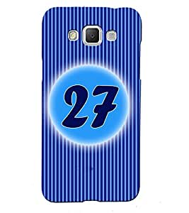 Fuson 3D Printed Numerology Designer back case cover for Samsung Galaxy Grand 2 G7106 / G7102 - D4247