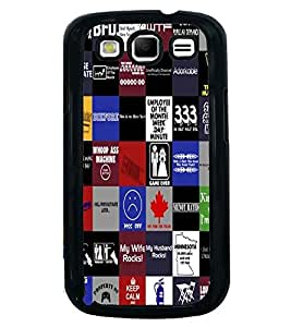 Printvisa Multiple Quotes And Signs Back Case Cover for Samsung Galaxy S3 Neo::Samsung Galaxy S3 Neo i9300i