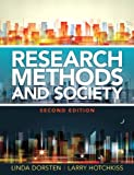 img - for Research Methods and Society: Foundations of Social Inquiry (2nd Edition) (Pearson Custom Anthropology) book / textbook / text book