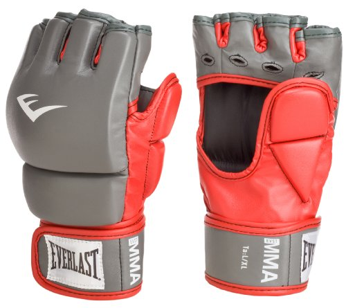 Everlast Train Advanced MMA 7-Ounce Closed-Thumb Grappling / Training Gloves