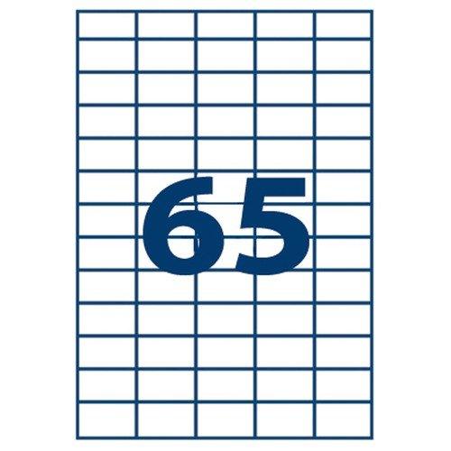 Business-etiquettes Adresse Multi-usages, Format 38.1 X 21.2 Mm - Boite De 6500