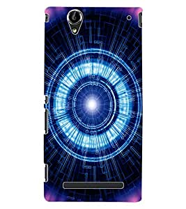 ColourCraft Digital Design Back Case Cover for SONY XPERIA T2 ULTRA