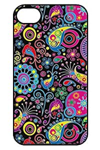 Awwsme Back Metal Print With Hard Plastic phone cover for iphone5 or 5s