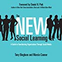 The New Social Learning: A Guide to Transforming Organizations Through Social Media (       UNABRIDGED) by Tony Bingham, Marcia Conner Narrated by James Babson