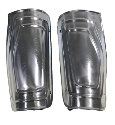 RedSkyTrader Mens Medieval Steel Costume Arm Guards One Size Fits Most Silver