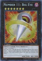 Yu-Gi-Oh! - Number 11: Big Eye (GAOV-EN090) - Galactic Overlord - 1st Edition - Secret Rare by Konami