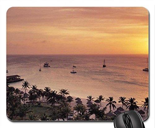 radisson-resort-on-aruba-at-sunset-mouse-pad-mousepad-sky-mouse-pad