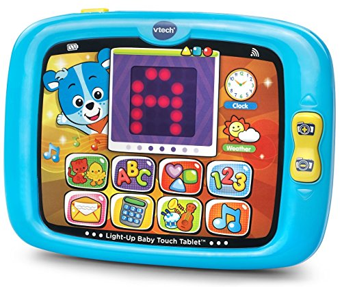 VTech Light-Up Baby Touch Tablet - Blue - Online Exclusive (Tablet For A One Year Old compare prices)