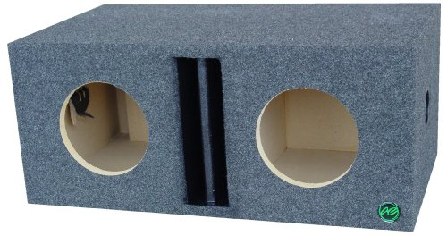 Audio Enhancers 8W7Dc Subwoofer Enclosure Box, Carpeted Finish