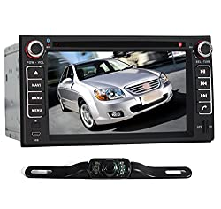 See Pumpkin 6.2 Inch For KIA In Dash HD Touch Screen Car DVD Player GPS Navigation AM/FM Radio Stereo Support SD/USB/Bluetooth/1080P/DVR/3G With Free Backup Rear View Camera As Gift Details