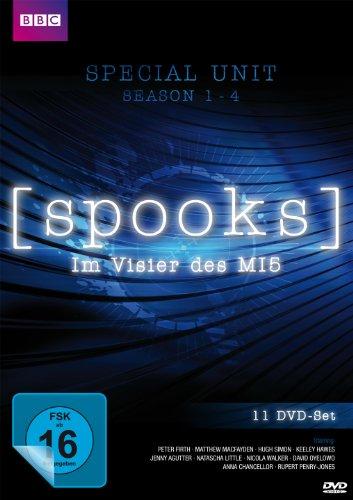 Spooks - Im Visier des MI5 - Special Unit - Staffel 1 - 4 + Bonusmaterial [11 DVDs] hier kaufen