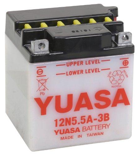 Yuasa Yuam22A5B 12N5.5A-3B Battery