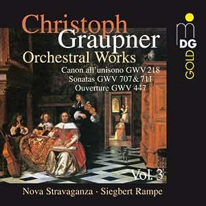 Intégrale des Oeuvres orchestrales vol. 3 : Ouverture, Canon, Sonates