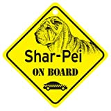 KC Creations Shar-Pei On Board Dog Sign Gift
