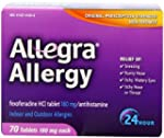 Allegra Adult 24 Hour Allergy Tablets...