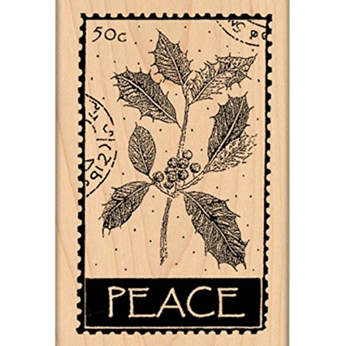 "Penny Black Mounted Rubber Stamp 2.5""X4""-Peace - 1"