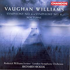 Vaughan Williams: Symphonies Nos. 6 and 8 / Nocturne