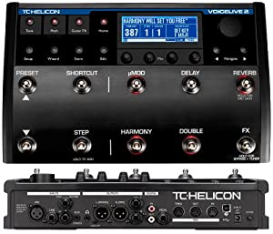 tc helicon voicelive 2 vocal multi effects pedal musical instruments. Black Bedroom Furniture Sets. Home Design Ideas