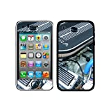 Graphics and More Protective Skin Sticker Case for iPhone 3G 3GS - Non-Retail Packaging - Classic Muscle Car Engine Compartment