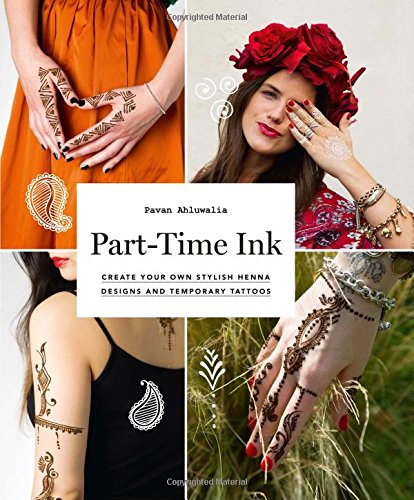 Part time ink create your own stylish henna designs and for Fake tattoo creator