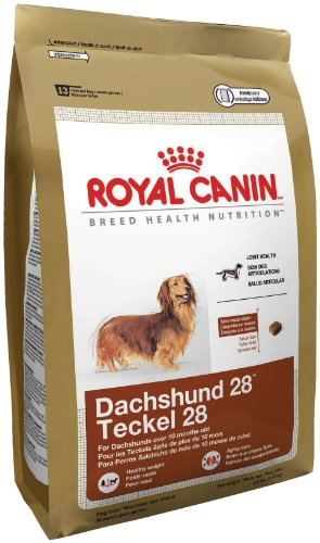 Royal Canin Dry Dog Food, Dachshund 28 Formula, 10-Pound Bag