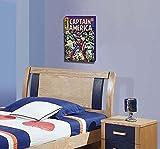 Vintage Comics: Large Marvel Captain America Retro Comic Book Cover Wood Box Art, Captain America Art - Superhero Wall Art, Captain America Cover, Captain America Wall Art, Vintage Comic Books, Gift